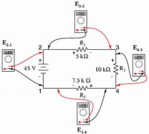 kirchhoffs voltage law kvl divider circuits and With kirchhoffs laws dc electric circuits worksheets