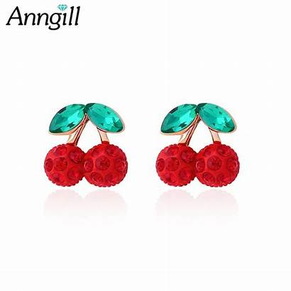 Earrings Clip Pierced Non Jewelry Without Cherry