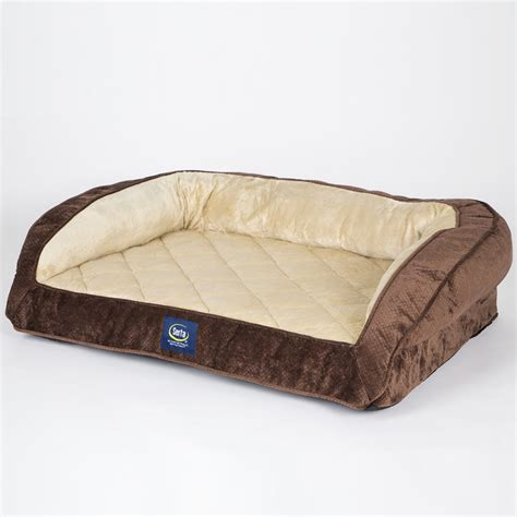 orthopedic pet bed with bolster sofa bolster bed energywarden