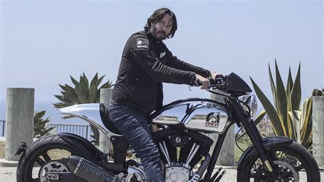 Keanu Reeves Will Build A ,000 Arch Motorcycle Just For
