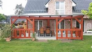 Terrassen berdachung aus holz oder alu for Holz terrassenüberdachung