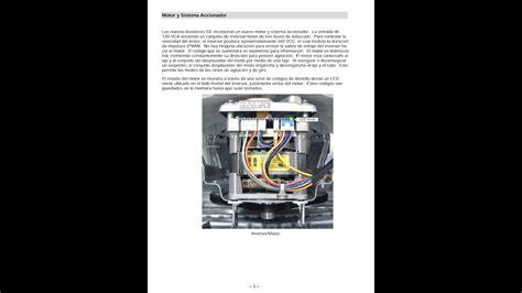 manual servicio tecnico lavadora   modelo  motor