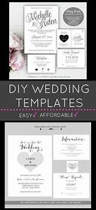 diy microsoft word invitation templates that you can make With wedding invitations you can print at home