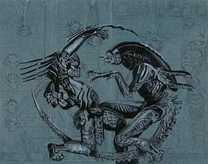 Alien vs Predator by EbR1 on DeviantArt