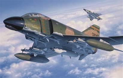 Phantom Mcdonnell Douglas Ii War Aviation Painting