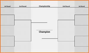 magnificent blank bracket template photos resume ideas With 8 team bracket template