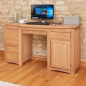Roscoe, Contemporary, Oak, Home, Office, Desk, Was, U00a3569, 00, Now, U00a3549, 00