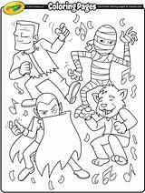 Crayola Monsters Colorear Mummy Muñecos Búho Ideen Bruxas Monstre Buho Artesanatos Carpetas Educativas sketch template