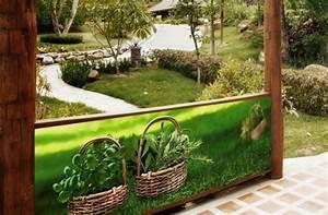 Brise Vue Décoratif : brise vue jardin esth tique et pratique ~ Nature-et-papiers.com Idées de Décoration