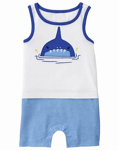 Shark Gymboree Outfits Tank