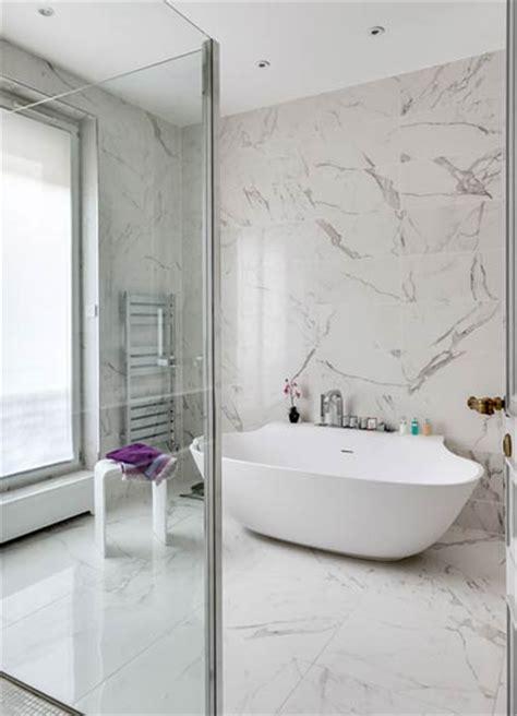 habill 233 e de marbre blanc une salle de bains intemporelle styles de bain