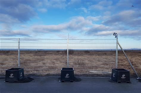 cld fencing systems keflavik international airport