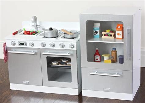 White Gourmet Toy Kitchen Set  Child's Play  Toy Kitchen