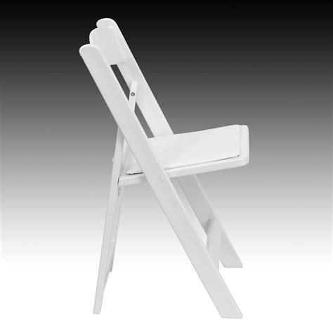 hercules series 1000 lb capacity white resin folding