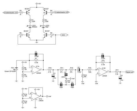 Pulse Oximetry Sensor Circuit