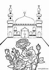 Coloring Mosque Ramadan Islamic Pages Sheets Printable Eid Mosques Drawing Bunch Crafts Raskraski Muslim 1000 Few Sheet Studies Language Easy sketch template