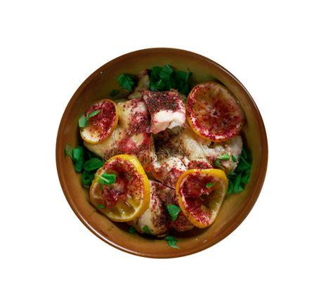 sumac cuisine poulet de sumac cuisine persane image stock image du