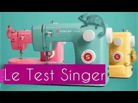 machine 224 coudre singer simple 3223 le test en couleur
