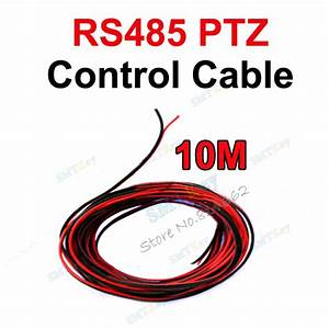 10m Cctv Rs485 To Ptz Control Cable For Cctv Camera Rs485