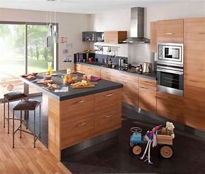 Petit Ilot Cuisine : cuisine avec ilot central et table 2018 et table ilot ~ Premium-room.com Idées de Décoration
