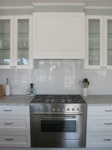beautiful cabinets kitchens concealed rangehood with display cabinets and subway tiles 1540