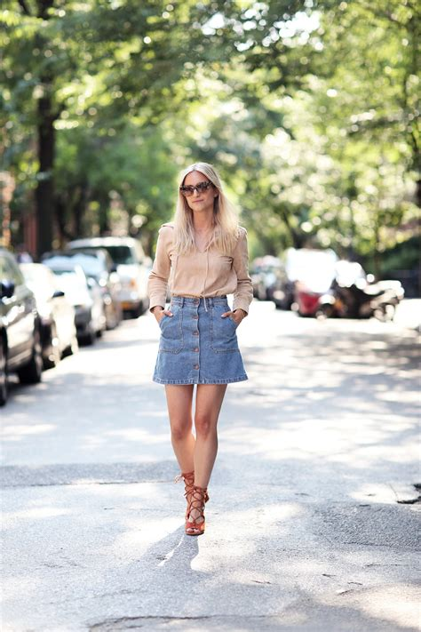 button front skirts trend  year  bet