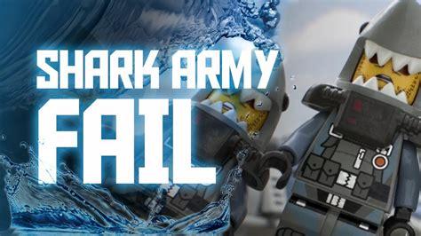 lego ninjago  fail army   shark army shark