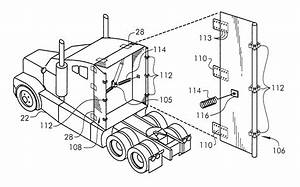 Patent Us6428084 - Fuel-efficient Tractor-trailer System