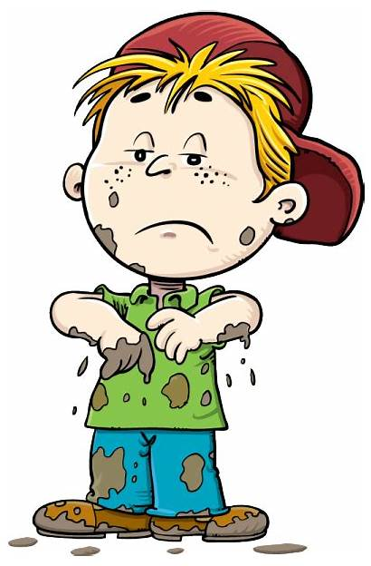Dirty Clipart Boy Cartoon Transparent