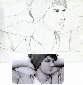 Cute Boy Sketch with Reference Picture by ...