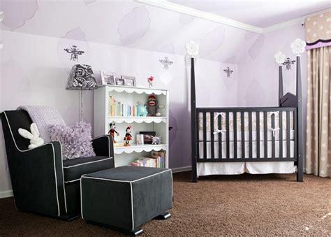 chambre violet et noir chambre bébé bien choisir les couleurs