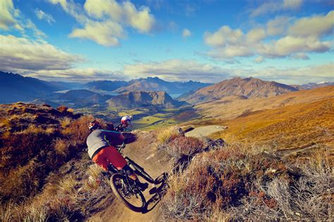queenstown  wanaka top   pile flow mountain bike