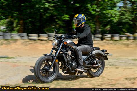 honda rebel 500 tested 2017 honda rebel 500 the practical bobber