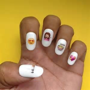 Emoji Poop Nails