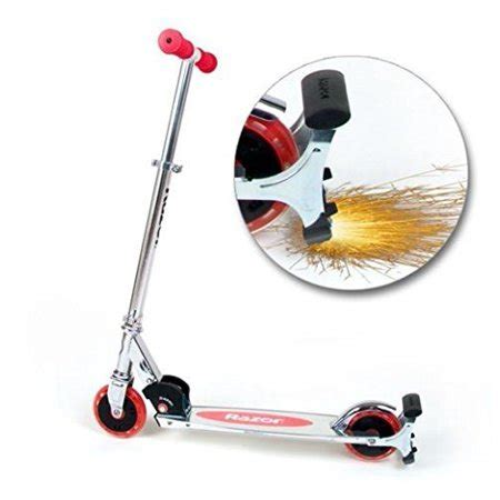 Razor Scooter With Light Up Wheels by Razor Spark Kick Scooter With Light Up Wheels New