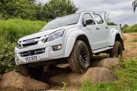 isuzu dmax isuzu d max arctic trucks at35 2016 review by car magazine