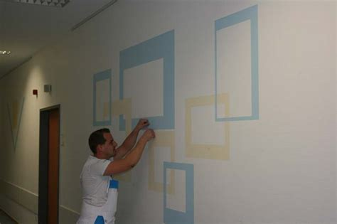 wandgestaltung mit drei farben referenzen malerbetrieb krefeld