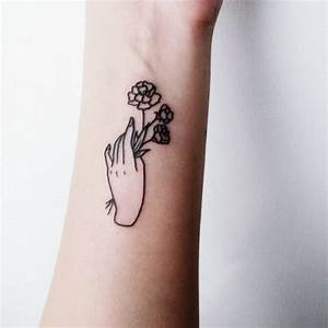 simple tattoos on Tumblr