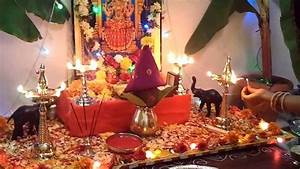 Dussehra 2013 Pooja at Home - Video 1 - YouTube