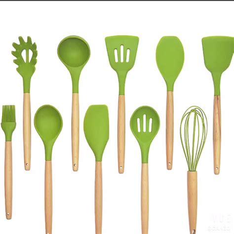 silicone wholesale grade food lfgb kitchen cooking utensil tools baking fda personalized selling utensils modern
