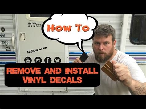 how to remove vinyl lettering rv vinyl adhesive removal doovi 4717