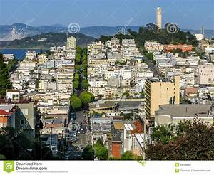 North Beach And Telegraph Hill, San Francisco Royalty Free ...