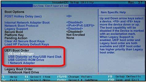 d馗orer un bureau ordinateurs hp erreur la sélection de démarrage a échoué parce qu 39 un périphérique requis est inaccessible windows 8 7 assistance