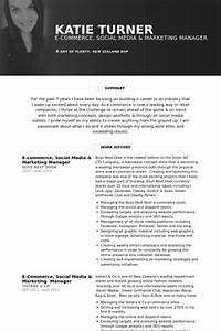 marketing manager resume samples visualcv resume samples With ecommerce resume sample