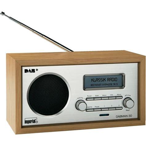 radio bureau dab table top radio imperial dabman 30 dab fm wood from