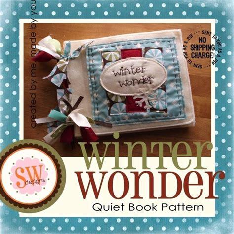 Pattern For Winter Wonder Quiet/activity Book Digital .pdf