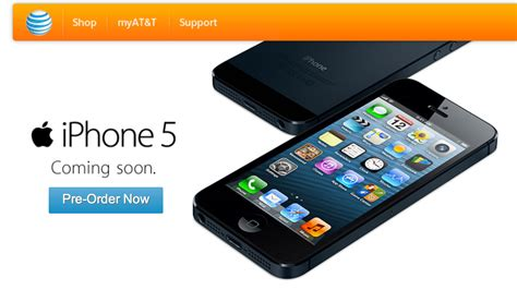 att iphones for at t announces record pre orders for iphone 5 imore