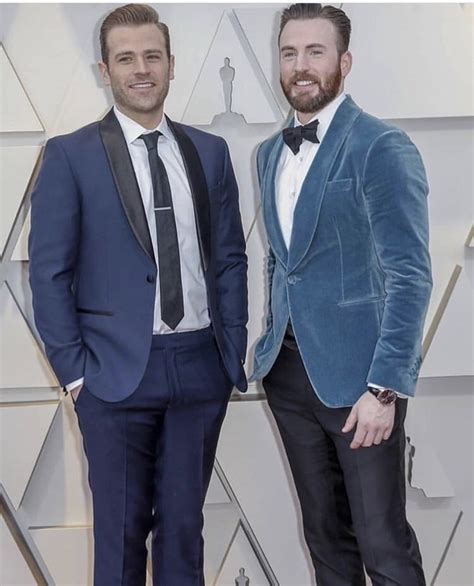 Scott Evans At The Oscars With Chris.