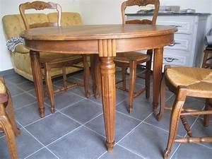 Table En Bois Massif Ancienne : table bois abim ~ Teatrodelosmanantiales.com Idées de Décoration