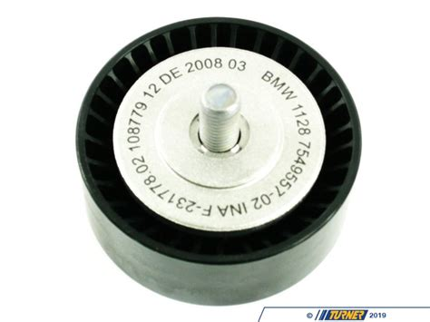 idler deflection pulley